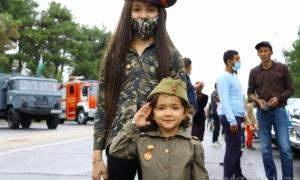 Фото: Празднование 9 мая в Самарканде!