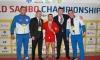 Самаркандцы завоевали пять наград на чемпионате мира по самбо в Корее